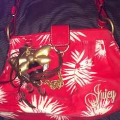 For Sale: Red Juicy Couture Purse for $56