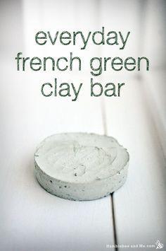 DIY Everyday French Green Clay Bar Recipe