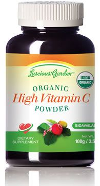 Whole Food vit. C -- acerola cherries From Cure Tooth Decay website