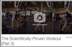 SLIDESHOW: The Scientifically Proven #Workout - Cycle 3 of the Equinox / UCLA scientifically proven #conditioning series mixes higher-intensity #strengthtraining moves with power-based #exercises. ..... Lean #musclemass #muscles #health #buildmuscle #Qblog #SelfTracking #fitness @enquos