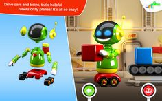 Mac App Build and Play 3D - Planes, Trains, Robots and More | Games | Kids |  | 4  | $0.99 NOW FREE | ~> Featured by Apple in the the new Kids