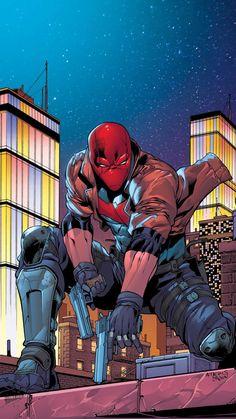 Red Hood Comic, Red Hood Dc, Batman Red Hood, Hood Wallpapers, Animes Wallpapers, Arte Dc Comics, Batman Comics, Red Hood Wallpaper, Hero Wallpaper