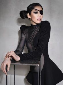 diesel black dress, Kamila Gawronska Kasperska. One is never over-dressed or underdressed with a Little Black Dress.