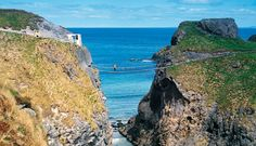The Carrick-a-Rede rope bridge is a coastal icon, swinging from its home on Antrim's Causeway Coast. From salmon to stamps to sea sirens, it has got a story to tell