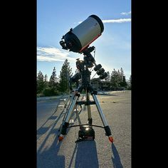 Ryan Berendsen Celestron CGE Pro Edge HD 14 Inch.... At the Cosmoarium..... Powered By Celestron.... Northstar California Resorts.... 6/26/2014.....