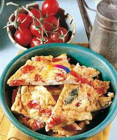 Frittata al forno con pomodori e basilico | Cucinare Meglio