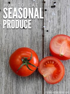 When you eat seasonal produce you will save money AND be healthier. Use this guide to learn why and how to eat seasonal produce! #seasonalfoods #seasonalproduce #produce #vegetables Healthy Juice Recipes, Healthy Juices, Vegetarian Recipes Easy, Real Food Recipes, Tomato Face, Asparagus And Mushrooms, Juicing Benefits, Health Benefits, Eat Seasonal