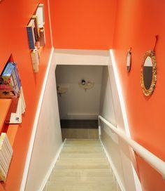 Cinnabar Red Fired Earth. Caravane loop mirrors Fired Earth, Mirrors, Stairs, Home Decor, Caravan, Terracotta, Mirror, Stairway, Staircases