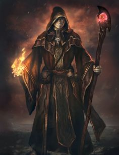 Dark Wizard by Mlappas