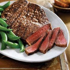 Tangy Lime Grilled Top Round Steak -- Trying this weekend!