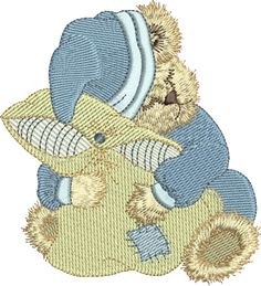 Sue Box Creations | Download Embroidery Designs | 06 - Bertie