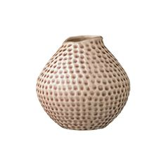 Discover+the+Bloomingville+Ceramic+Vase+with+Dotted+Detail+-+Mauve+at+Amara