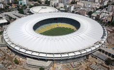 The Maracanã Stadium, the popular Maraca, built for the World Cup 1950, is the largest stadium in Brazil and the second tourist spot that receives the most visitors in Rio de Janeiro, second only to Christ the Redeemer.   Rio de Janeiro, Brazil