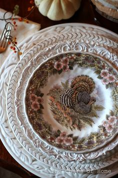 The Charm of Home: Thanksgiving Place Setting