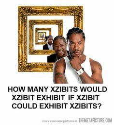 Yo dawg, I heard you like Xzibit