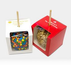 Caramel Apple Personalized Solid Gift Boxes