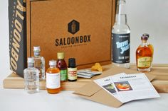 SaloonBox DIY Cocktail Kit SaloonBox delivers all you need to make cocktails at home. Recipes curated by top mixologists. Cocktail Making Kit, Father's Day Specials, Top Cocktails, Best Subscription Boxes, Beauty Box Subscriptions, Vodka Bottle, Fathers Day, Gifts