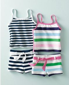 Hooray for non-hoochie swimsuits for little girls!