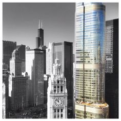 Reflections on trump tower #chicago