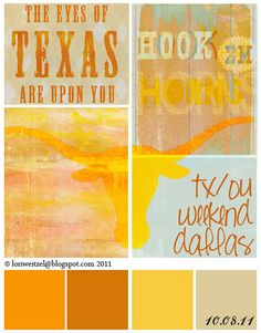 Texas Longhorns (If I'm pinning in class, I might as well pin UT stuff)