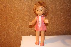 Кукла СССР улыбашка Днепр Днепропетровск 51 см