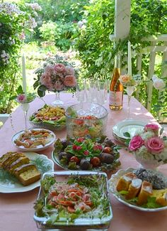 10/24/16 Hello dearest Joyce. I'm throwing you this garden tea party to celebrate the end of your special week.I invited myself & I'm starved so get on over here so we can eat,LOL. Luv & hugs my dear sweet friend. xoxo ♥
