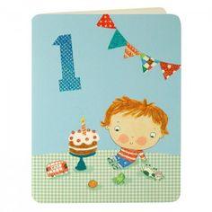 Boy Aged One Card