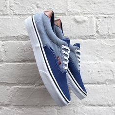 27a3ba3e01 Vans Era 59 Estate Blue Canvas   Chambray