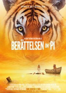 Poster Berättelsen om Pi (2012)