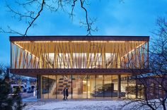 Writers Theatre | Architect Magazine | Studio Gang Architects, Glencoe, Illinois, Cultural, Institutional Projects, Recreational Projects, Daylighting, Wood, Jeanne Gang, Writers Theatre