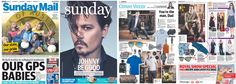 VOID Watches and Blunt umbrellas featured in The Sunday Mail 30/08/2015.