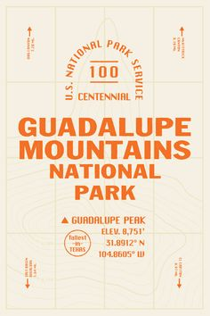 Guadalupe Mountains by Zachary Wieland Typography Layout, Typography Quotes, Typography Inspiration, Typography Poster, Graphic Design Typography, Japanese Typography, Design Inspiration, Font Design, Design Poster