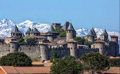 [L'image] La Cité de Carcassonne comme vous ne l'avez (peut-être) jamais vue