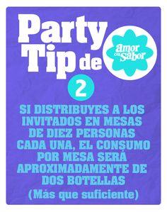 Party tip 2. De las bebidas