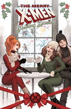 Coming This December it's Merry X-Men! One book, 25 stories! Celebrate the Holiday Season with the all new Mutant One Shot. On December get in the holiday spirit with Marvel's MERRY X-MEN! Read 25 holiday tales of the merry mutants all in one. Marvel Comics, Hq Marvel, Arte Dc Comics, Marvel News, Chris Sims, Rogue Gambit, X Men Evolution, Marvel Entertainment, The Villain