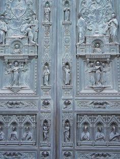 Heaven's Doors. Santa Maria della Fiore. Florence, Italy