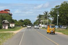 Diani Beach Road, Kenya