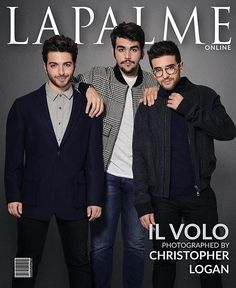 Repost ilvoloheart  for LaPalme magazine #ilvolo #gianlucaginoble #pierobarone #ignazioboschetto