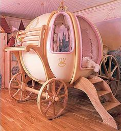 Would've loved to have this as a kid! (Cinderella's Coach)
