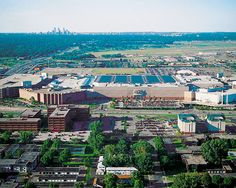 Mall of America, Minnesota. The largest shopping mall in the USA.