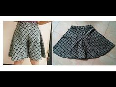 HOW TO SEW CIRCULAR SHORTS/ DIVIDED SKIRT/ WIDE LEG TROUSER/ CIRCULAR PALAZZO WITH LINING - YouTube