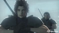 Zack and Angeal - Crisis Core   Final Fantasy VII