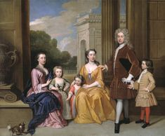 The Harvey Family by Godfrey Kneller, 1721