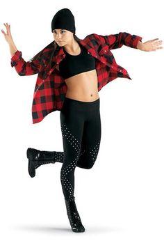 Rachel/ Stephanie Buffalo Plaid Flannel Dance Shirt | Urban Groove® $20