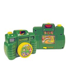 Take a look at this Green Pretend Camera on zulily today!