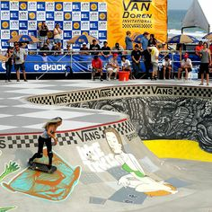 Vans US Open // Skating the Bowl