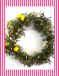 Olive leaves wreath