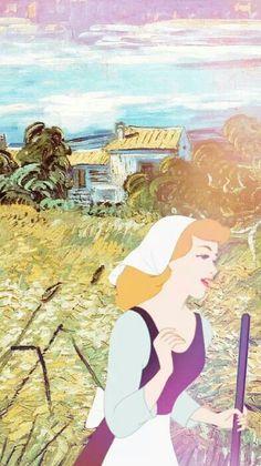 Disney meets Van Gogh - Cinderella