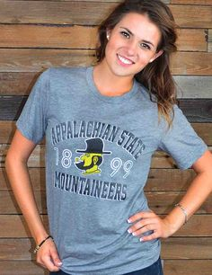 Mountaineer Nation! This ultra soft App State tee is the perfect shirt for you! Grab one now to show your Appalachian State pride!