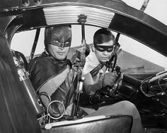 "Batman, 1966  -  I feel like this needs a ""Get In Loser! We Are Going To...""  :D"